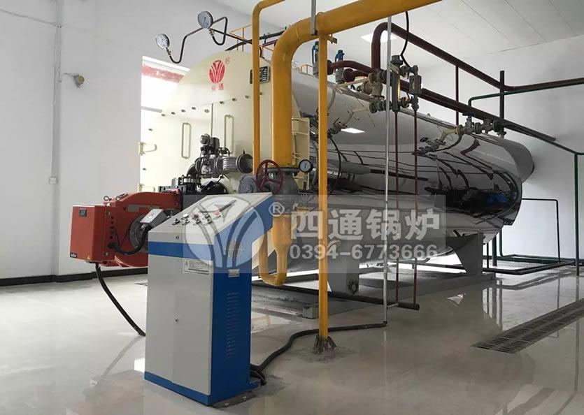 西安电力公司订购一台半吨燃气锅