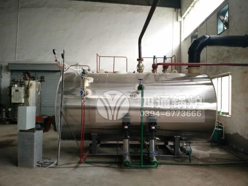 西安农化实业公司订购1吨燃气锅